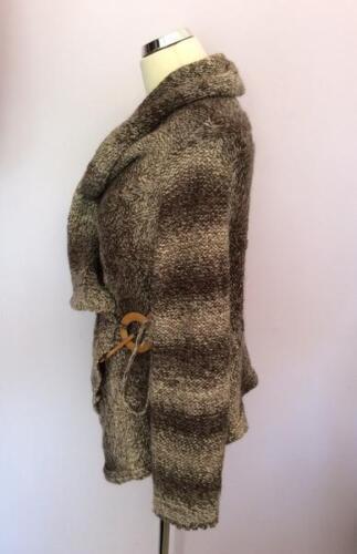 Across Brown One Wrap Weave B Size Cardigan Marlene p1HfqIwW