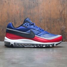 Nike Air Max 97 BW Deep Royal Blue Black University Red Ao2406-400 Size 9.5