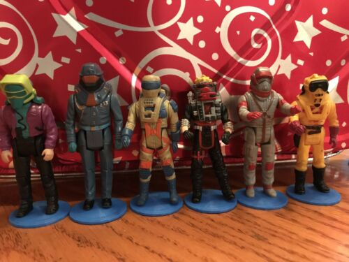 Kenner M.A.S.K Action Figure Stands Lot Of 20