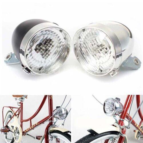 New Bicycle Light 3 LED Vintage Retro Classic Bike Front Light Headlamp