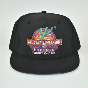 1995-NBA-All-Star-Game-Weekend-AJD-Vintage-Men-039-s-Adjustable-Snapback-Cap-Hat