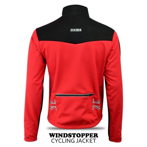 Women Cycling Winter Jacket Windstoper Top Hi-Viz Coldwear Bicycle Jacket S-XXL