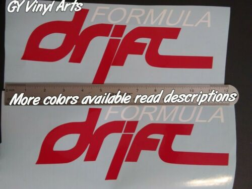 Compare to,Formula,Drift Windshield Decal Car Sticker Banner Graphics