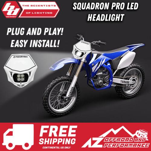 Yamaha YZ450F EFI Squadron PRO LED Headlight KitAC White BAJA DESIGNS