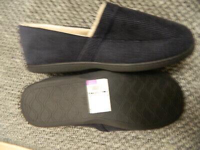 New Mens Marks /& Spencer Blue Slippers Size 12