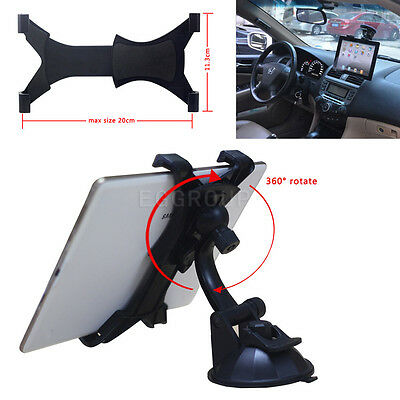 "Car Windshield & Desktop Mount Bracket Holder for 7"" 8"" 9"" 10"" 10.1"" Tablet Tab"