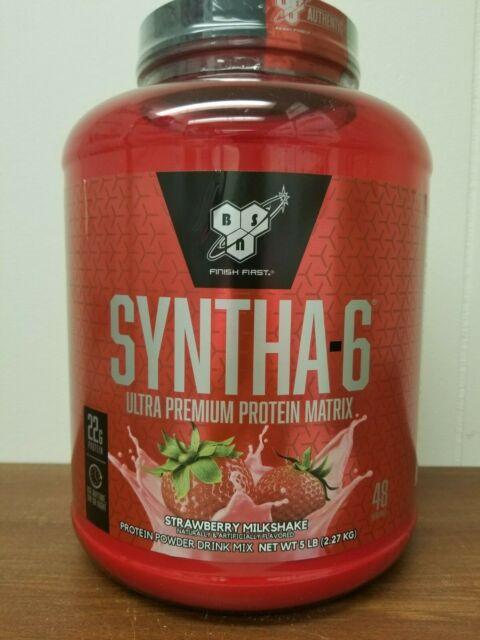 Bsn Syntha 6 Protein Powder 5lb Ultra Premium Lean Matrix 5 Lb Choose Flavor For Sale Online