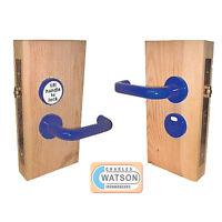 Jeflock Accessible Toilet Door Lock Normbau Antibacterial Microban Colours