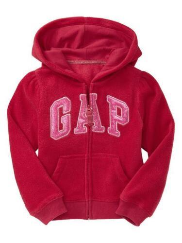 NWT Baby GAP Glitter Sparkle Arch Logo Pro Fleece Hoodie Jacket 18-24mos 3 4 5
