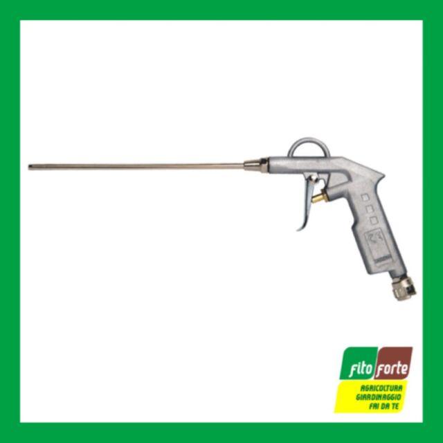 Pistola Soffiaggio in Alluminio Sabbiato Canna Lunga Maurer Aria Compressa