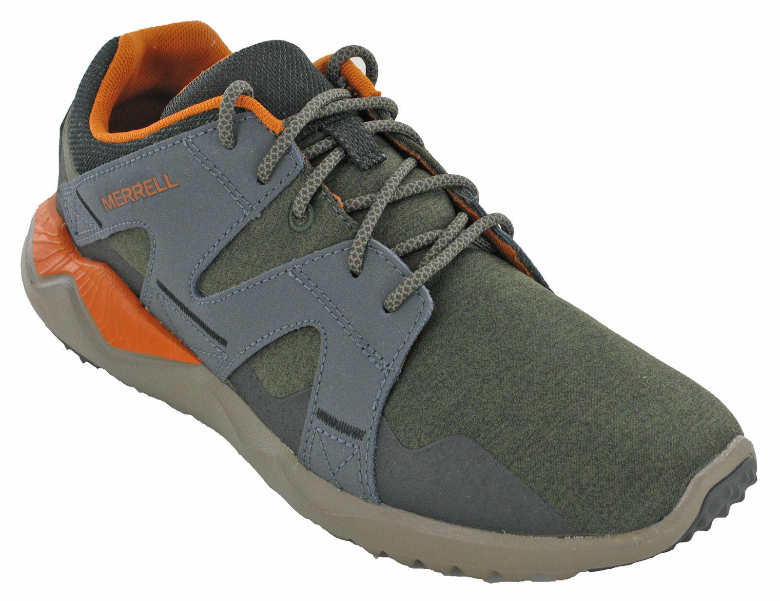 Merrell 1SIX8 Senderismo Zapatillas  Caminar Cuero Hombres Zapatos Bajo Top Encaje Acolchado  productos creativos