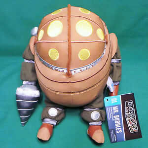 BioShock Mr. Bubbles Big Daddy Collector s Plush Toy 11