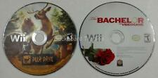 Wii Videogames Discs The Bachelor & Deer Drive Discs Only Used FREE SHIPPING