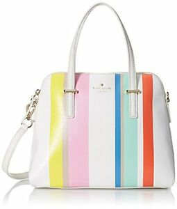 KATE-SPADE-New-York-MAISE-PXTU6433-Cedar-Street-MULTI-STRIPE-Purse-BAG-Free-Ship
