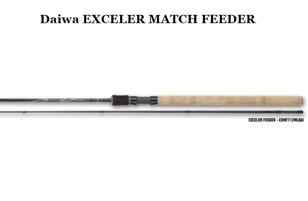 NOVITA' Daiwa Exceler Match Feeder mod. 10'    3,00mt  azione 2-8lb 60gr AGONISMO a6b