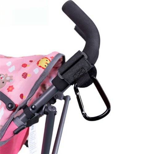 Stroller Buggy Clips Pram Pushchair Shopping Bag Hook Carabiner Clip LH