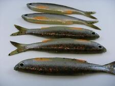 5 x SAVAGE GEAR 3D GREEN P/S BLEAK REAL TAIL DROP SHOT LRF  FISHING 3g LURES 8cm