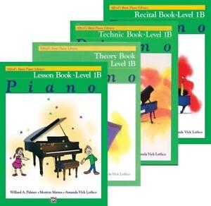 Alfred's Basic Piano Cours Niveau 1b-livre De 4 Pack (leçon/théorie/récital/tech)-/recital/tech) Fr-fr Afficher Le Titre D'origine Bon GoûT