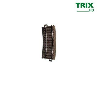 Accurato Trix 62115 Binario Curvo R1 360 Mm, Arco Di 15 ° + + Merce Nuova-mostra Il Titolo Originale Rinvigorire Efficacemente La Salute