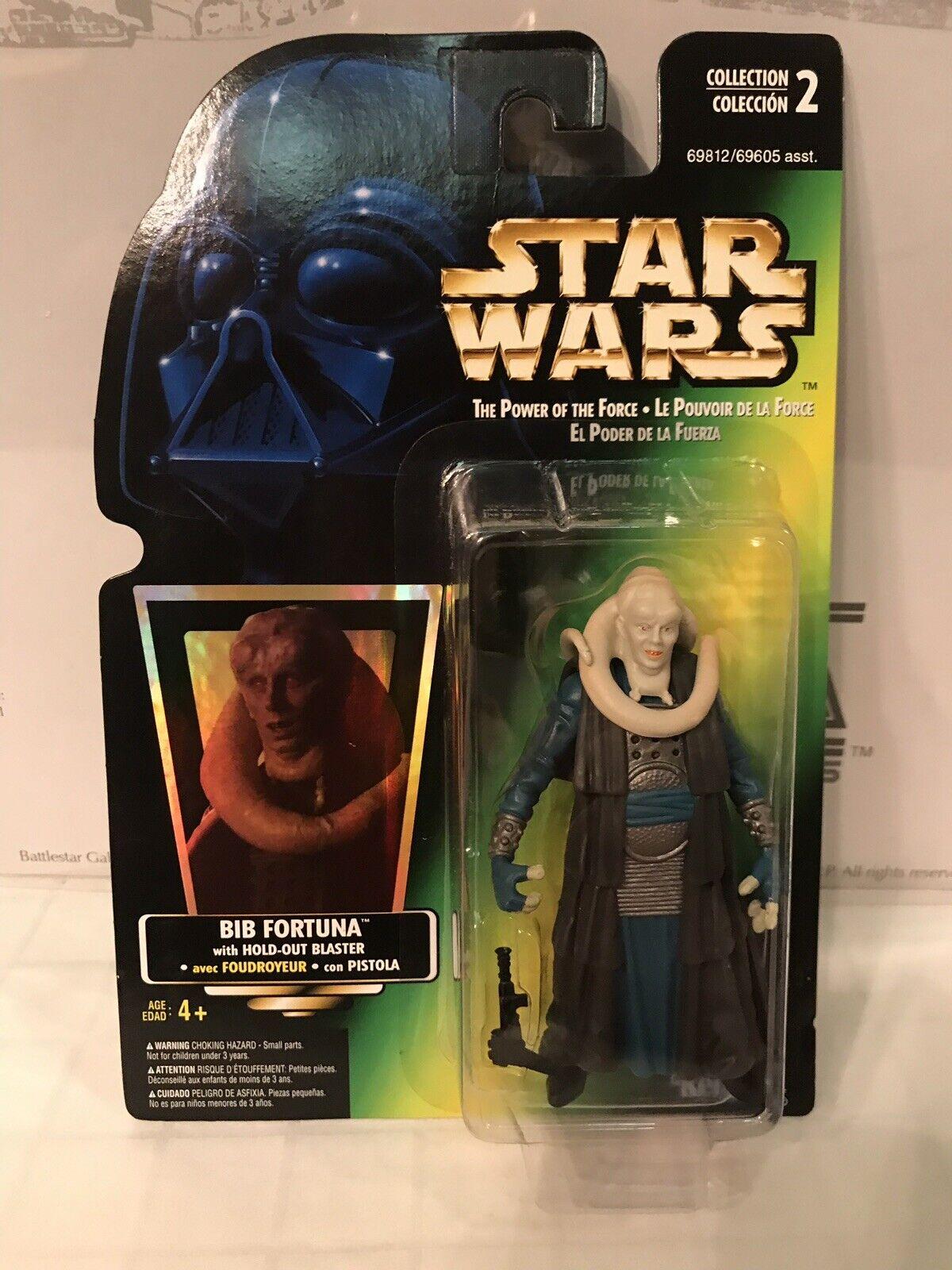 Star Wars The Power Of The Force Tri-Logo Bib Fortuna
