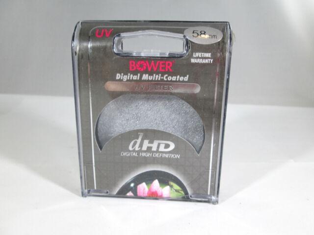 Bower FUC58 Digital High-Definition 58mm UV Filter