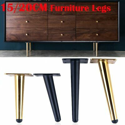 4pcs 15 20cm Furniture Table Legs Metal, How To Install Furniture Feet