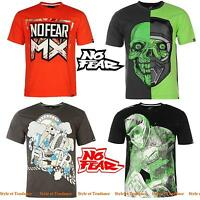 T-shirt No Fear Différentes Couleurs Homme Type Monster Energy & Red Bull
