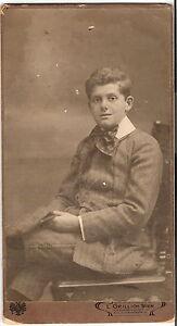 Grosses-CAB-Foto-Feiner-Junge-Wien-1910er