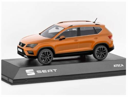 SEAT Ateca Model Collectable Car 1:43 Samoa Orange