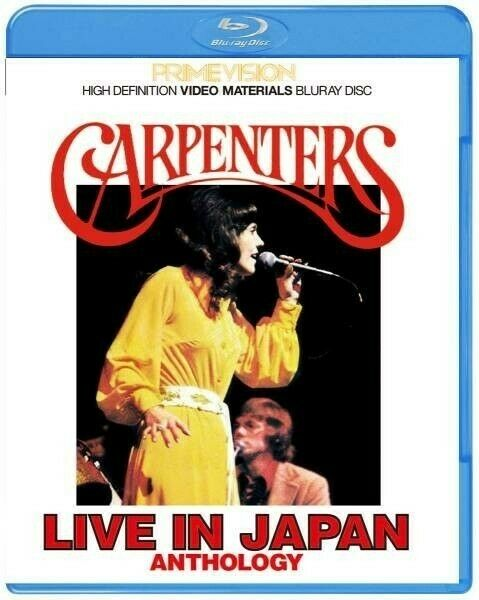 Carpenters Live In Japan Anthology Collector's Edition Bluray Japanese Subtitles