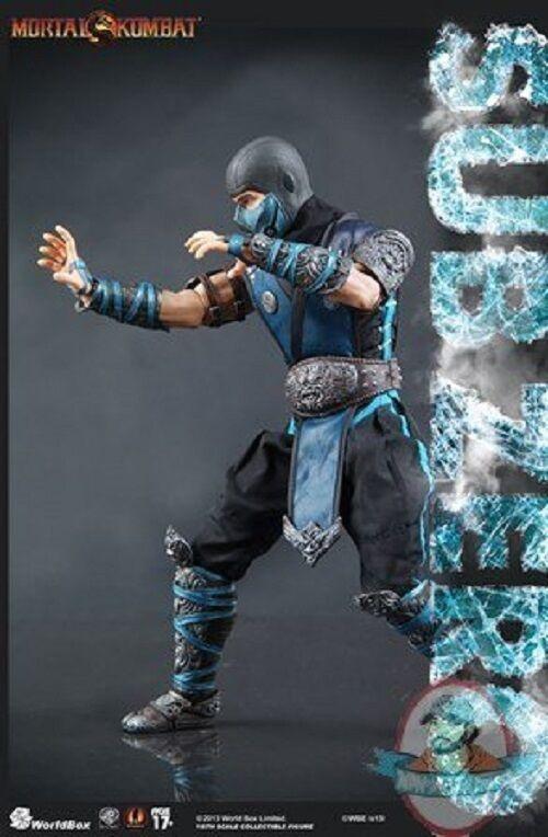 1 6 Scale  Mortal Kombat   Sub-Zero 12 inch Figure Worldbox