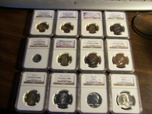 LOT OF 2 READ!! PCGS OR NGC-PROOF 70 COINS-BELOW GUIDE VALUES-READ!