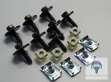 1x Kit Protección del motor Antiempotramiento Clips Renault Espace IV Laguna II