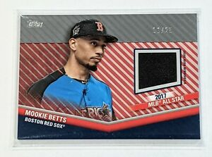 2020-Topps-Update-Mookie-Betts-All-Star-Stitches-Relic-Red-Parallel-25-Dodgers