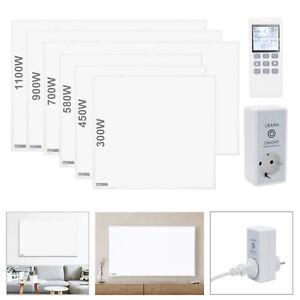 300W-1100W Infrarotheizung Wandheizung mit Thermostat Heizkörper Heizpaneel