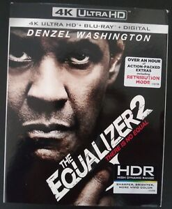 The-Equalizer-2-4K-Blu-ray-Digital-Slipcover-Brand-NEW-FREE-SHIPPING