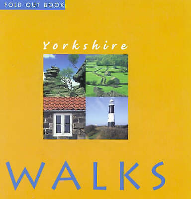 """AS NEW"" Yorkshire Walks (Fold Out Books), Gutta, Reginald, Book"
