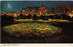 Postcard-MORECAMBE-ILLUMINATIONS-Ref-C9