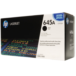 HP C9730A Black 5500 Genuine Toner Cartridge NEW