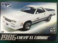 Mpc 1986 Chevy El Camino 1/25 Scale Plastic Model Car Kit Mpc712