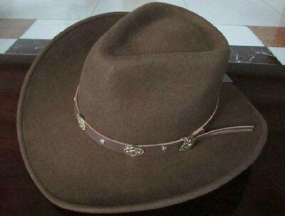 100%Wool Top hat Felt Women/Men Wide Brim equestrianis Cowboy/Boven Riding hat