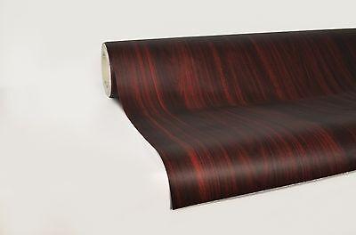 "Professional quality Dark wood grain 5ft x 48"" pre-laminated  for furniture viv"