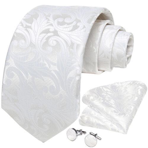 100 Colors Mens Silk Tie Necktie Set Red Blue Green Brown Pink Gold Wedding Prom