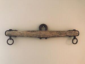 Vintage Wood And Iron Single Oxen Yoke Horse Rustic Decor