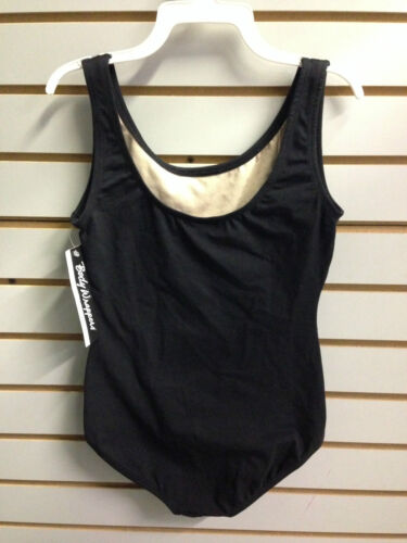 Fits Child 8-10 Body Wrappers BWC315 Women/'s Size XS Black Tank Leotard