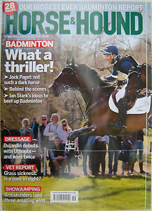 HORSE-And-HOUND-The-Equine-Interest-Magazine-9-May-2013-Badminton-Dressage-Vet