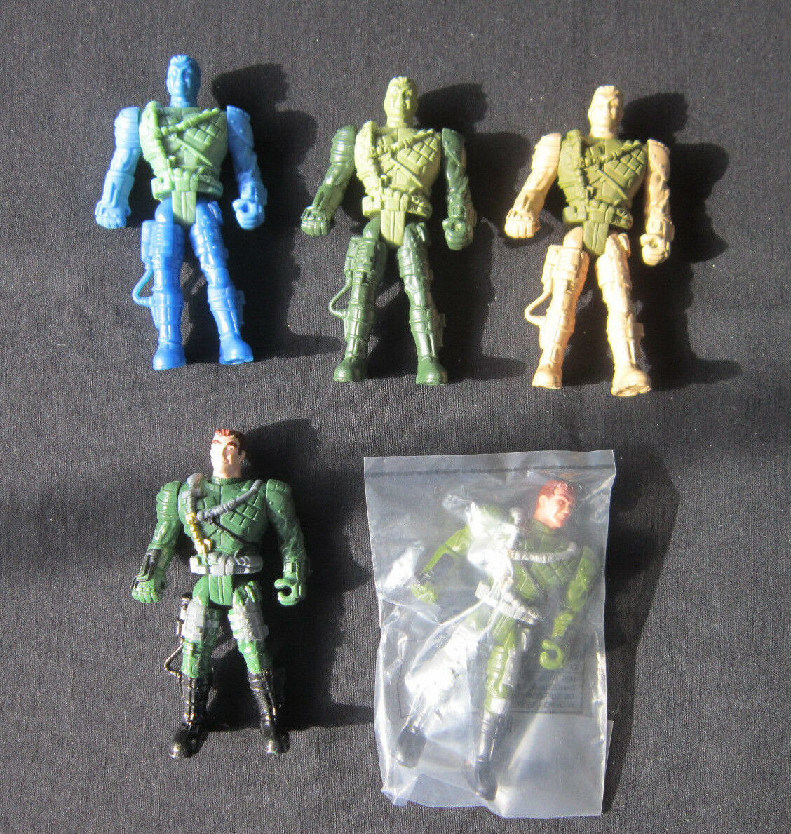 The Corps Lanard Predotype Test Type Paint Master Same figure x5 Army soldier C