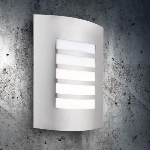 Bewegungsmelder Außen Edelstahl Haus Wand Leuchte Garagen Lampe Licht Terrassen
