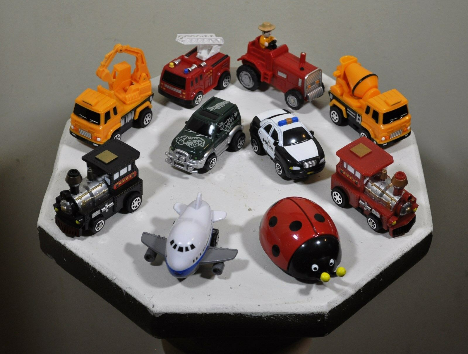 10 Puzzle Vehicle Singles-SUPER VALUE PK-FREE SHIPPING-