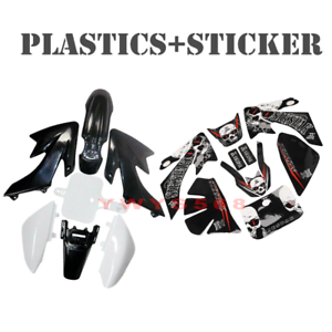 Stickers Pit For Honda XR50 CRF50 SSR SDG BAJA 50CC 7 pcs Plastics Kit 125CC